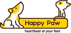 logo happy paw